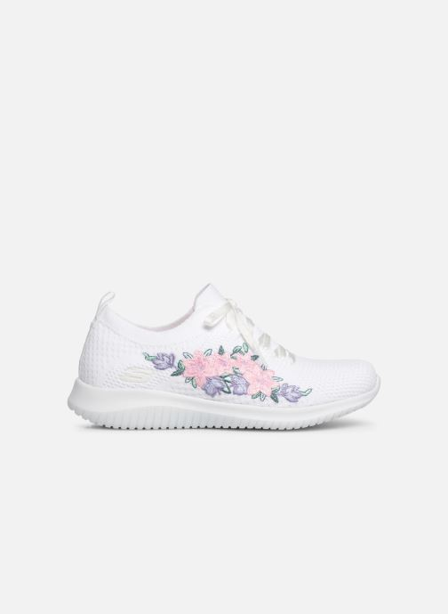 Sneakers Skechers Ultra Flex Fresh Pick Bianco immagine posteriore